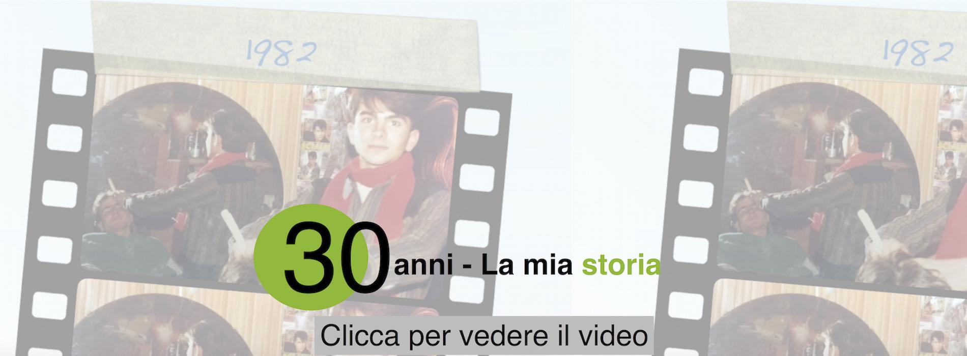 Trent'anni di carriera - Il video