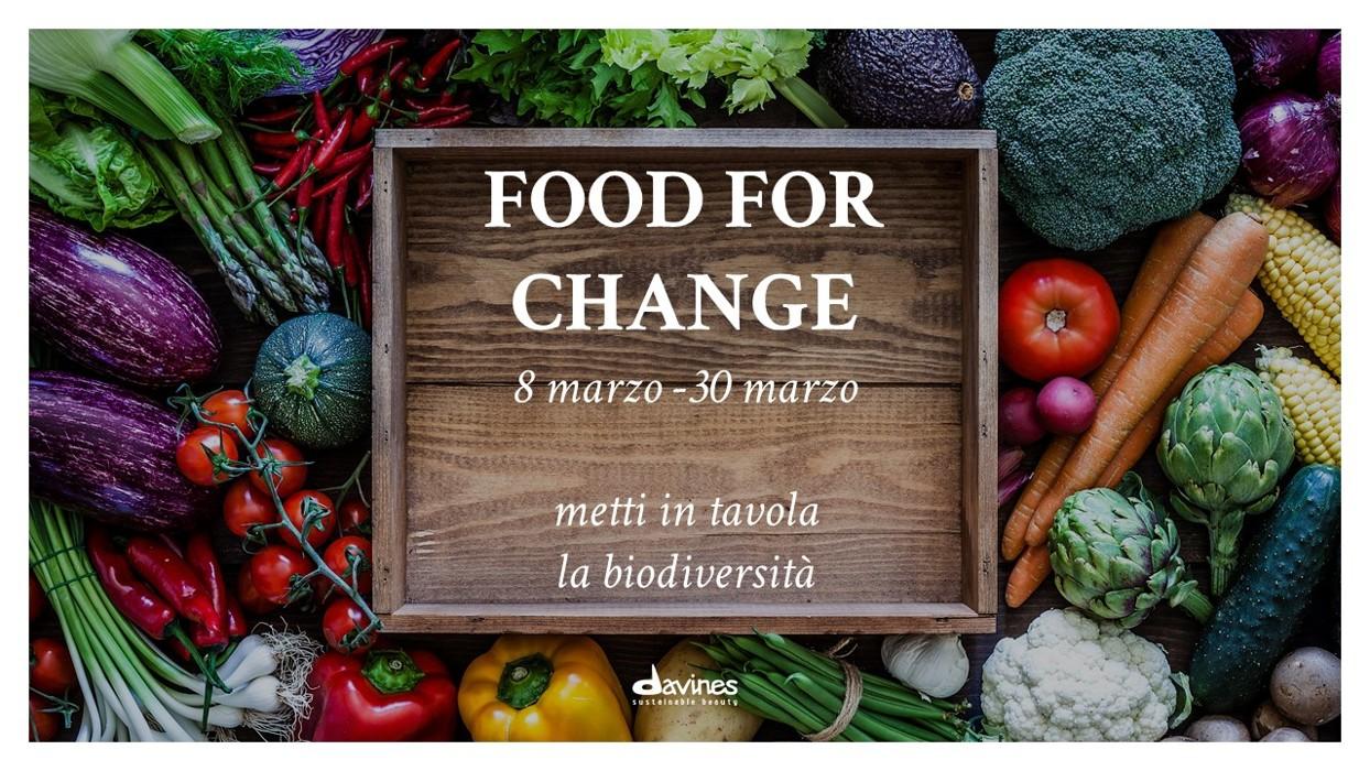 header food for change